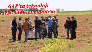 Teknoloji ile GAP'ta tarımı takip ediyorlar