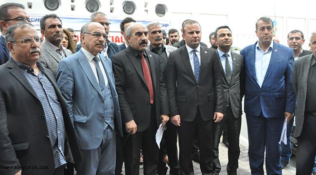 Urfa CHP: Organize bir eylemdir