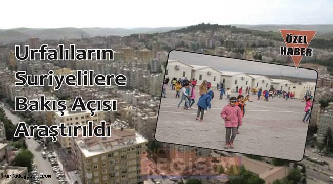 Urfalıların Gözünde Suriyeliler!