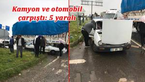 Viranşehir'de feci kaza: 5 yaralı