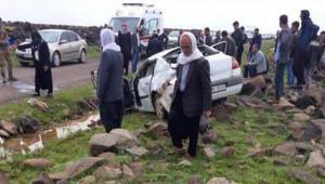 Viranşehir'de trafik kazası: 1 ölü 2 yaralı