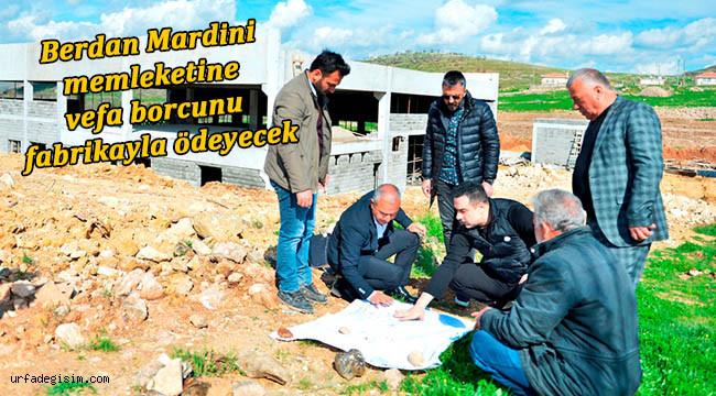 Berdan Mardini'den memleketine yatırım