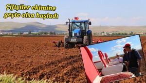 Çiftçiler, pamuk ekimine başladı