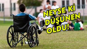 Engelliler için çalışma teklifi