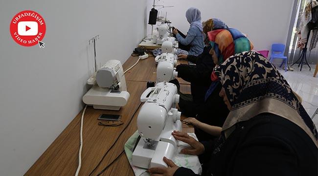 Kadınlar, Haliliye'de meslek sahibi oluyor
