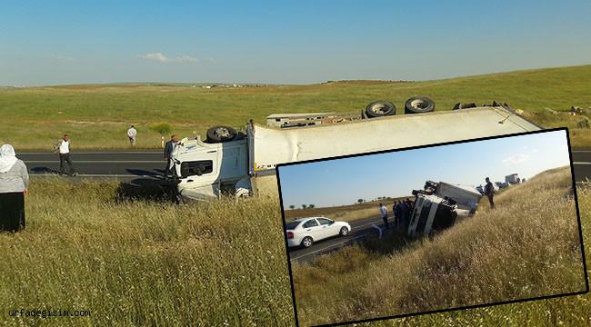 Şanlıurfa'da kaza: 1 yaralı