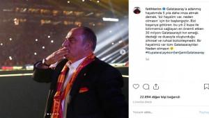 Terim'den Galatasaraylıları heyecanlandıracak paylaşım
