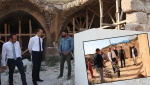 Turizme kazandıralacak tarihi alanları inceledi
