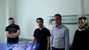 Viranşehir'de ilk defa kapalı ameliyat yapıldı