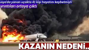 Yanan Rus uçağının pilotundan açıklama