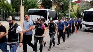 16 kişiden 7'si tutuklandı