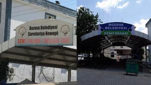 Belediye, Kürtçe tabelaları kaldırdı