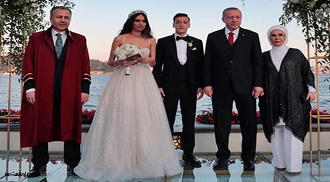 Erdoğan, Özil'in Nikah Şahidi Oldu