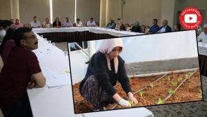 Kadın çiftçiler güçlendirilecek