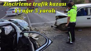 Şanlıurfa'da feci kaza: 5 yaralı