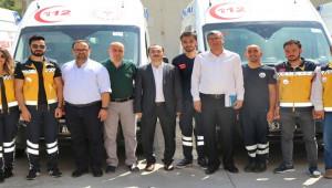 Tam Donanımlı Ambulanslar Urfa Sağlığına Hizmet edecek