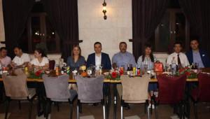 Urfa'da hakim ve savcılara veda yemeği