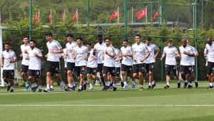 Beşiktaş'ta Hazırlıklar Devam Etti !