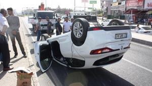 Diyarbakır-Urfa yolunda trafik kazası: 5 yaralı