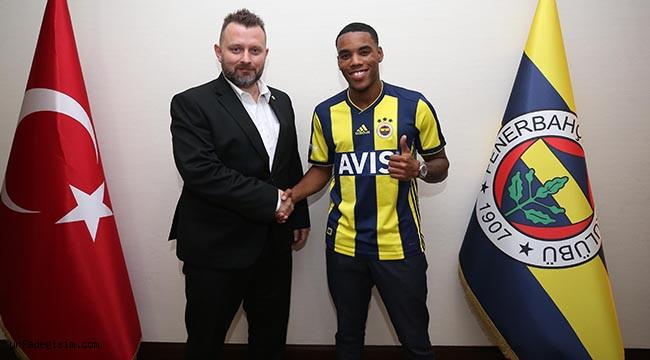 'Fenerbahçe'de oynayacağım için gurur duyuyorum'