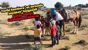 Göbeklitepe'den Mardin'e at sırtında seyahat