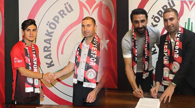Karaköprü Belediyespor 2 futbolcu ile anlaştı
