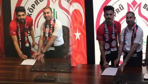Karaköprü belediyespor'dan iki transfer birden!
