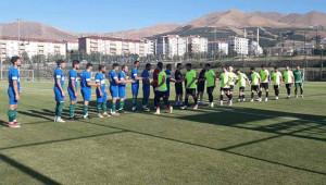 Karaköprü Belediyespor'un ilk maçı gollü bitti