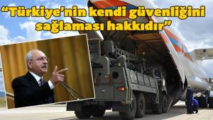 Kılıçdaroğlu'ndan S400 yorumu
