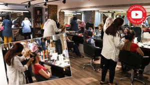 Kuaför ve saç tasarım kurslarına yoğun ilgi
