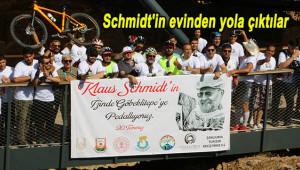 Pedallar bu kez Schmidt için çevrildi