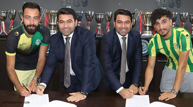 Şanlıurfaspor 3 futbolcuyla sözleşme imzaladı