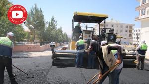 Seyrantepe'de caddeler asfaltlandı