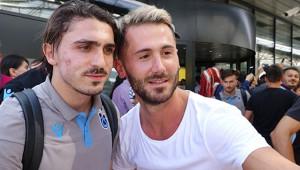 Trabzonspor'a Linz Şehrin'de Coşkulu Karşılama