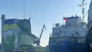 Ukrayna, Rus Gemisini Alıkoydu
