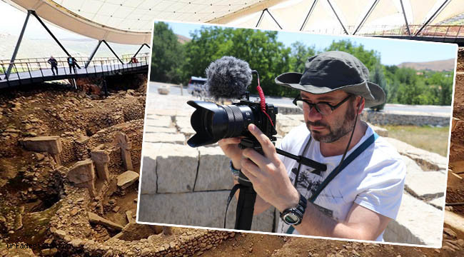 Urfa'nın tarihi yerlerinin belgeselini çekecek