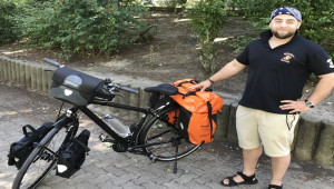 Urfalı Gurbetçi 3 bin Km pedal çevirecek