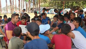 Urfalı öğrenciler bilim kampına katıldı