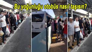 Vatandaşlardan küçük otobüs tepkisi!