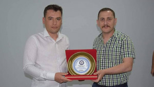 Viranşehir Jandarma Komutanı'na veda yemeği