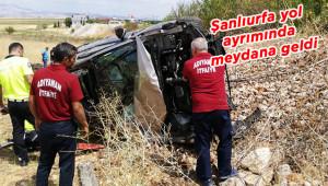 Araçtan fırlayan kadın öldü