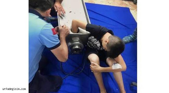 Babasına Yardım Ederken Elini Kıyma Makinesine Kaptırdı