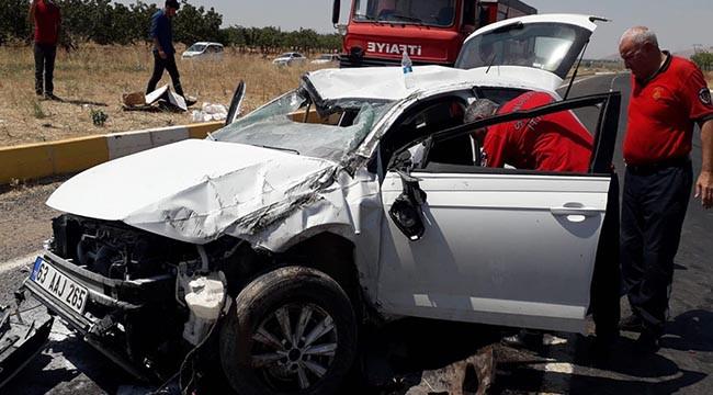 Bozova'da trafik kazası: 3 yaralı