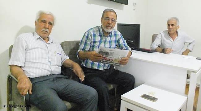 Dr. Sunay'dan Urfa Değişim'e ziyaret