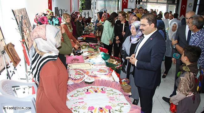 El işi ürünler için sergi açıldı