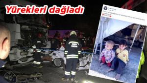 Kazada ölen babanın paylaşımı yürek dağladı