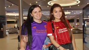 Liverpool ve Chelsea Taraftarları İstanbul'da