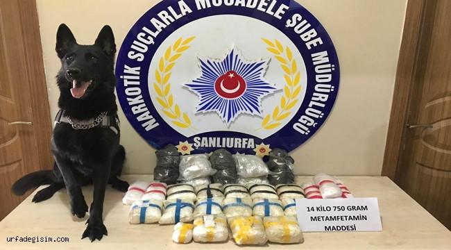 Şanlıurfa'da Uyuşturucu Tacirlerine Büyük Darbe