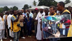 Şanlıurfa'dan Sierra Leone'ye 101 kurban gönderildi