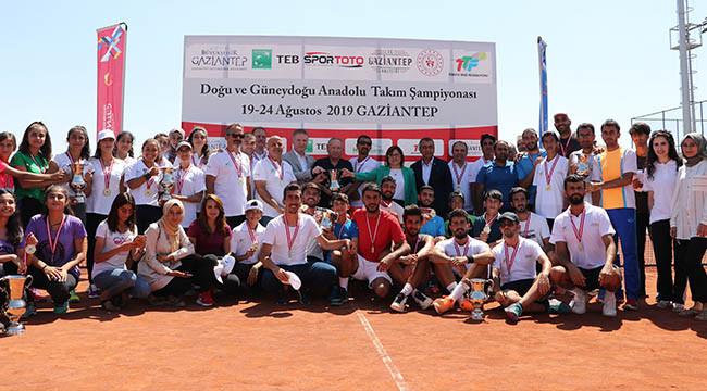 Şanlıurfa, teniste birinci oldu